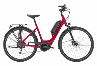 Trek Verve+ 2 Lowstep DT 300wh Womens E-Bike  Rose