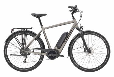 Bicicleta Ciudad Eléctrica Trek Verve+ 2 400wh 700 Gris