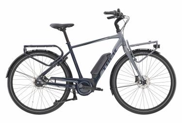 Vélo de Ville Électrique Sportif Trek District+ 2 500wh Shimano Nexus 7V Bleu / Gris 2020