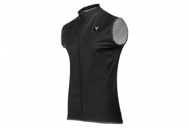 LeBram Allos Black Sleeveless Jacket Black