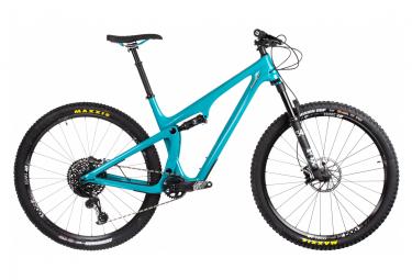 Yeti cycles all hanging sb100 29   39   39  carbon sram gx eagle 12v turquoise 2020 l   178 191 cm