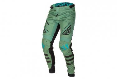 Fly Racing Kinetic Bicycle Youth Pantalones Sage Green Black 26