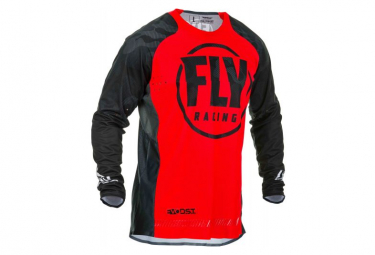 Fly Racing Evolution DST Long Sleeve Jersey Red Black
