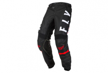 Fly Racing Kinetic K120 Youth Pants Black White Red
