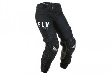 Pantalon Femme Fly Racing Lite Noir Blanc