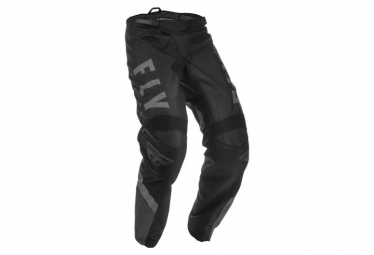 Fly Racing F-16 Youth Pants Black Grey