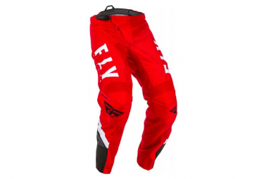 Fly Racing F-16 Youth Pants Red Black White