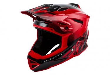 Fly Racing Default Youth Full Face Helmet Red Black