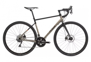 Gravel Bike TRIBAN 520 RC Shimano 105 11V Black / Gray