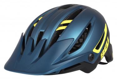 Bell Sixer MIPS Helm Blau Gelb