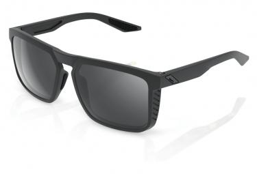 100% Renshaw Soft Tact Brille Cool Grey Black Mirror / Schwarz / Grau