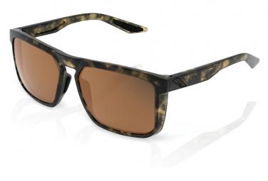 100% Renshaw Soft Tact Havanna Bronze Peakpolar Linse / Braun / Schwarze Brille
