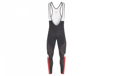 Look Optimum Bib Tights Negro Rojo Blanco
