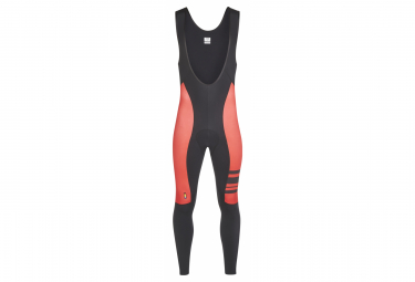 Look Racing Sport Thermal Bib Tights Black Red