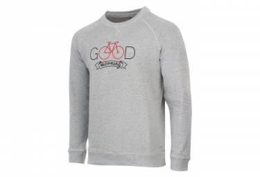 Marcel 'Good Morning' Sweatshirt Gray