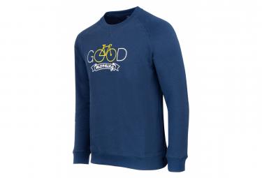 Marcel Pignon Sweatshirt '' Good Morning '' Blue