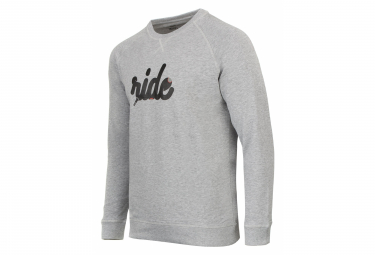 Sweatshirt Marcel Pignon ''Ride'' Gris