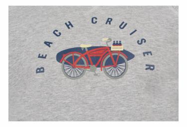 Sweatshirt Marcel Pignon ''Beach Cruiser'' Gris