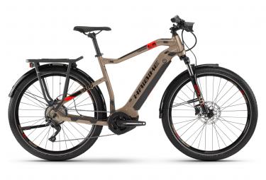 VTC Électrique Haibike SDuro Trekking 4.0 Shimano Deore 10V 500 Beige 2020