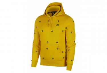 Nike SB Printed Skate Hoodie Yellow