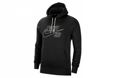 Sweat NIKE SB Skate EMBROIDERY Noir Blanc