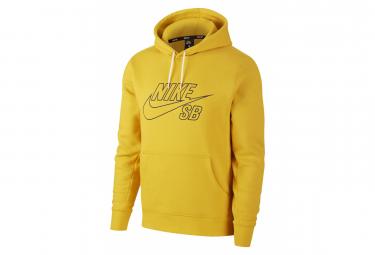 NIKE SB Skate Sweatshirt EMBROIDERY Yellow