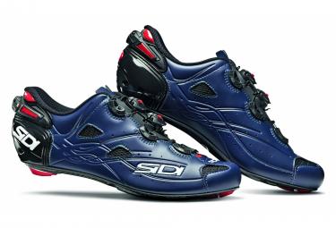 Sidi Shot Shoes Black Mat Blue