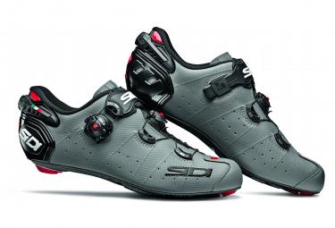 Chaussures Route Sidi Wire 2 Carbon Gris Noir