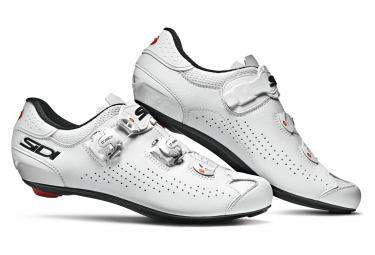 Chaussures Route Sidi Genius 10 Blanc