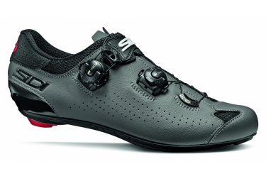 Sidi Genius 10 Road Shoes Black Grey