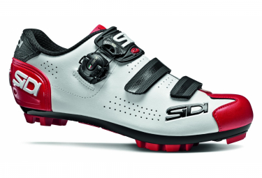 Sidi Trace 2 MTB Shoes White Black Red