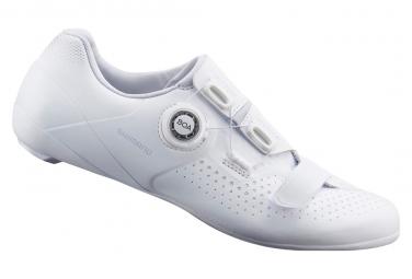 Pair of Shimano RC5 Road Shoes Black