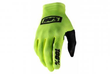 Lange Handschuhe 100% Celium 2 Yellow Fluo / Black