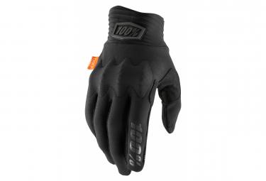 Lange Handschuhe 100% Cognito D30 Schwarz / Grau