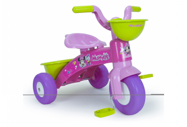 Tricycle original Disney Minnie pour fille de 2/3 ans