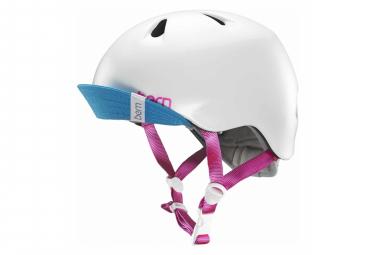 Bern Helmet Nina White / Red