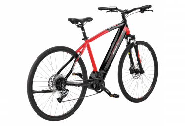 Bicicleta Híbrida Eléctrica BH Atom Cross 700 Rouge / Noir