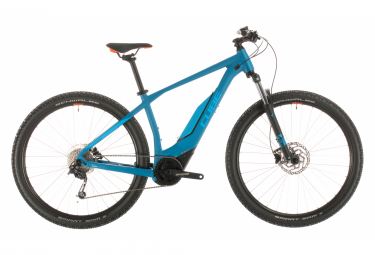 MTB Eléctrica Semi Rígida Cube Acid Hybrid One 500 29'' Bleu / Orange 2020