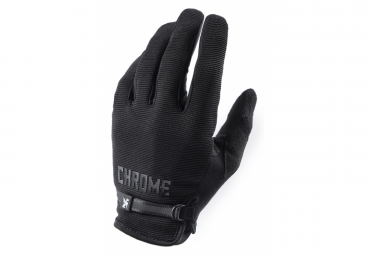 Gants Longs Chrome Cycling Gloves Noir