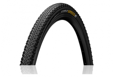 Continental Terra Speed 650b Cyclocross Tire Tubeless Ready Nero Chili Protection