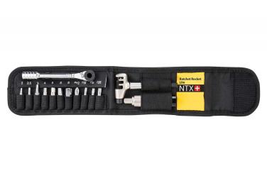 Clé dynamométrique Topeak Ratchet Rocket Lite NTX 19 fontions