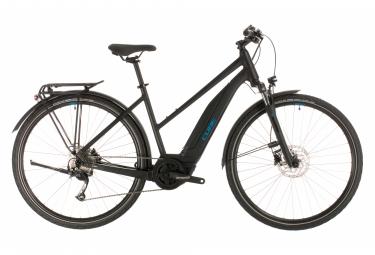 Bicicleta Híbrida Eléctrica Cube Touring Hybrid One 500 28'' Noir / Bleu