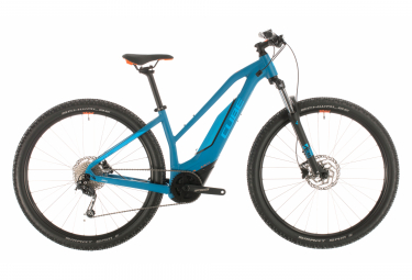 Cube Electric Hardtail MTB Acid Hybrid One 500 29'' Trapeze Shimano Altus / Deore 9s Blue / Orange 2020