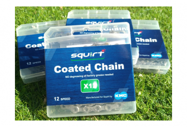 Cadena squirt kmc infundida con squirt x12 np