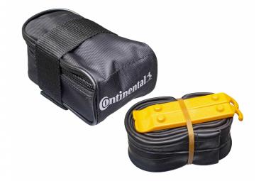 Continental Saddle Bag + 26 '' 1.75 - 2.50 Tubo MTB + 2 Palancas de neumáticos