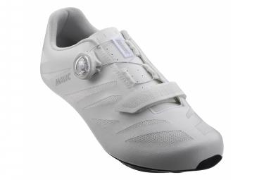 Pair of Mavic Cosmic Elite SL Road Shoes White