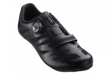 Pair of Mavic Cosmic Elite SL Road Shoes Black