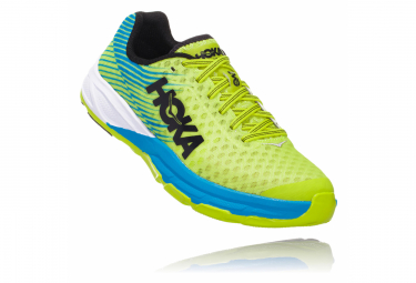 Hoka Evo Carbon Rocket Yellow Blue Men