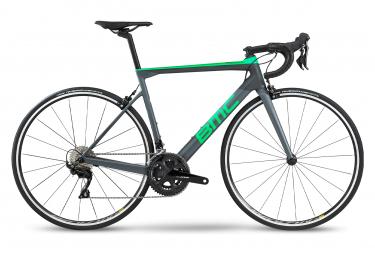 BMC Teammachine Road SLR02 TRE TRE Shimano 105) Grigio / Verde 2020