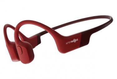 Casque Bluetooth Aftershokz Aeropex Rouge